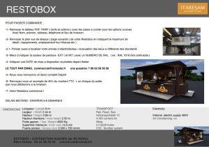 commande restobox