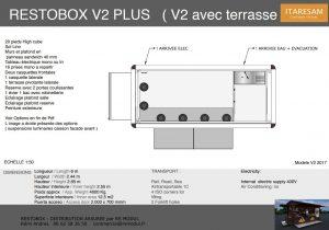 restobox v2 plus avec terrasse